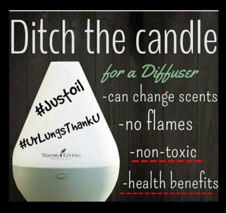 Diffuser vs Candle