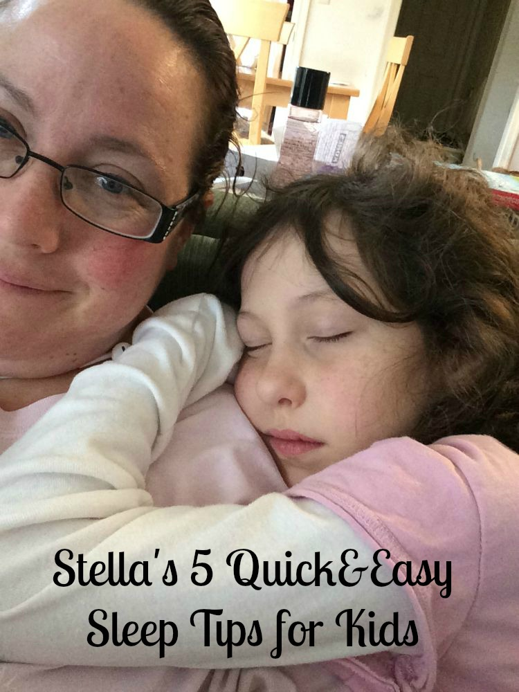 Five Quick&Easy Sleep Tips for Kids