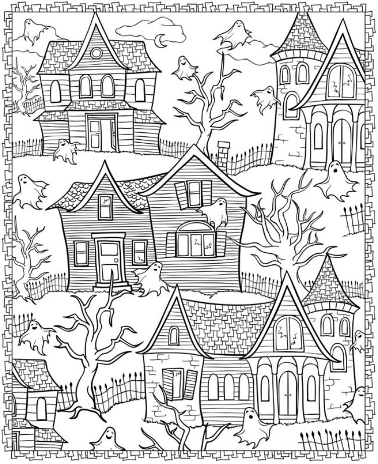 Free Coloring Pages: for Big Kids
