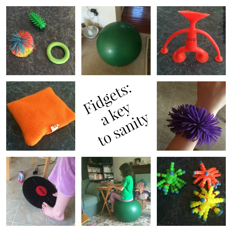 Another Key to Sanity – The Right Fidget