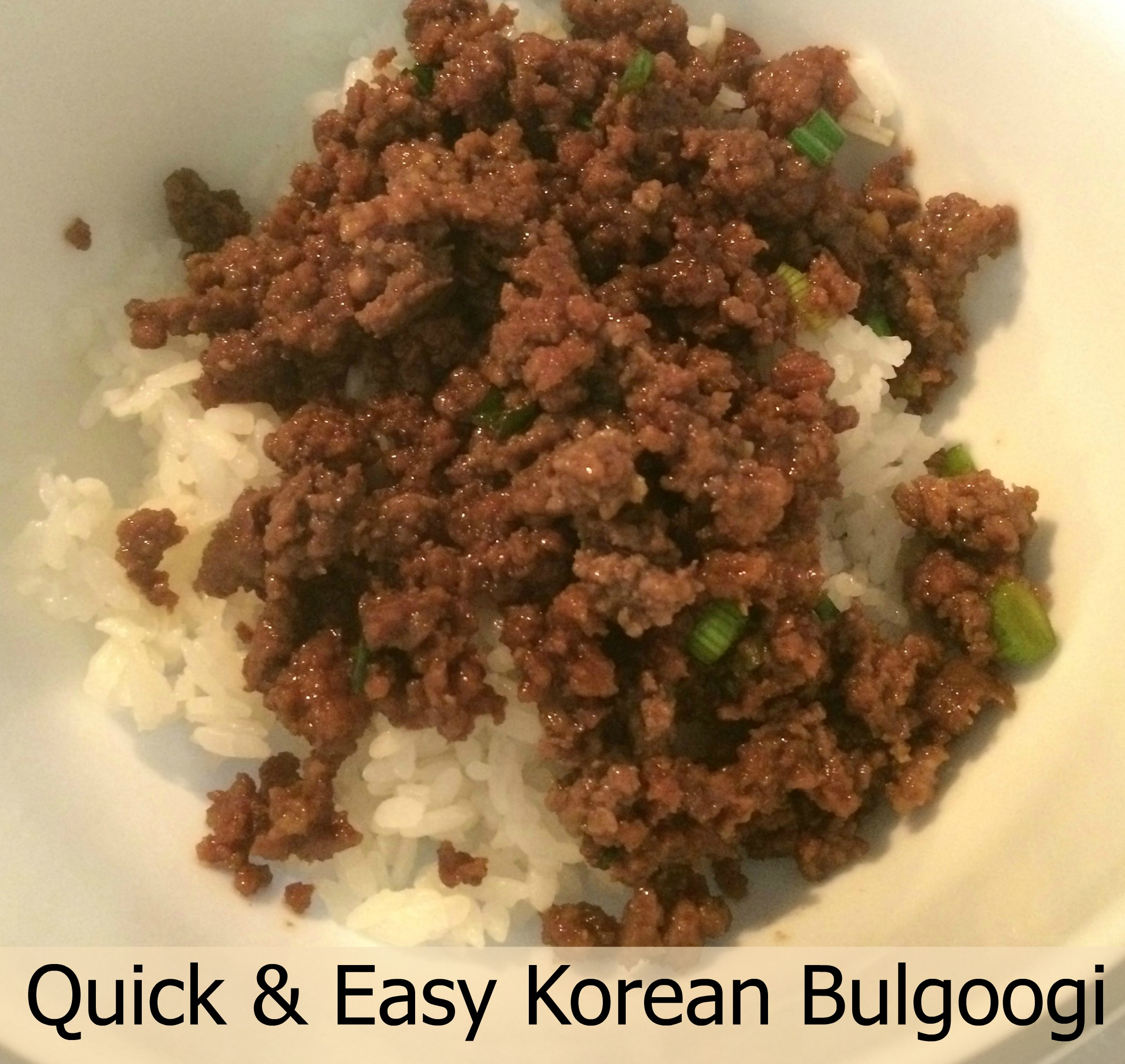 Recipe: Quick&Easy Bulgoogi (Korean Beef Bowl)
