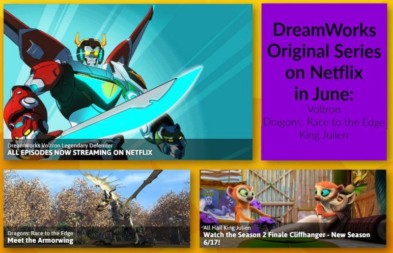 June Tune In: DreamWorks Animation on Netflix