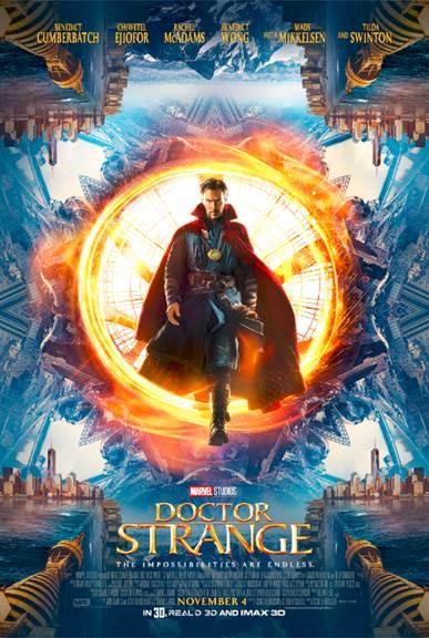 #DoctorStrange Trailer & Poster
