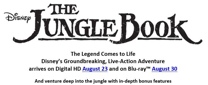 JungleBook - dvd logo