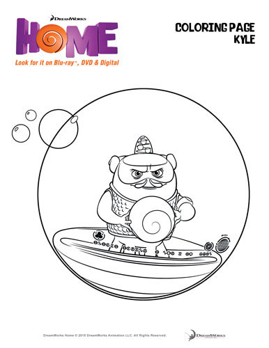 boov coloring pages - photo#25