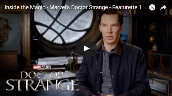 Marvel's DOCTOR STRANGE Brand New Featurette