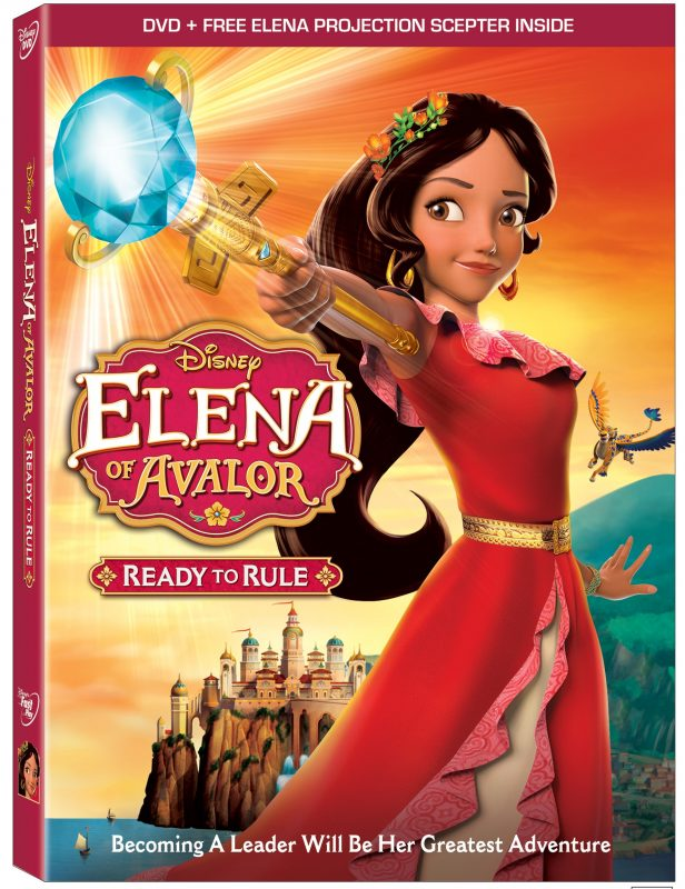 Bring Home Elena of Avalor's New Epic Adventure on Disney DVD December 6th