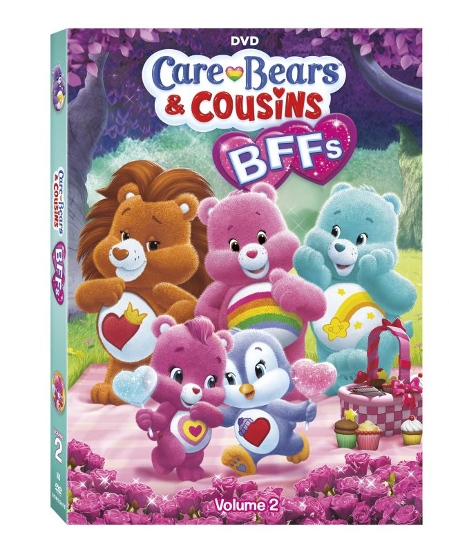 Cuddly Care Bears & Cousins: BFFs – Volume 2, arriving on DVD and Digital HD March 7 #carebears