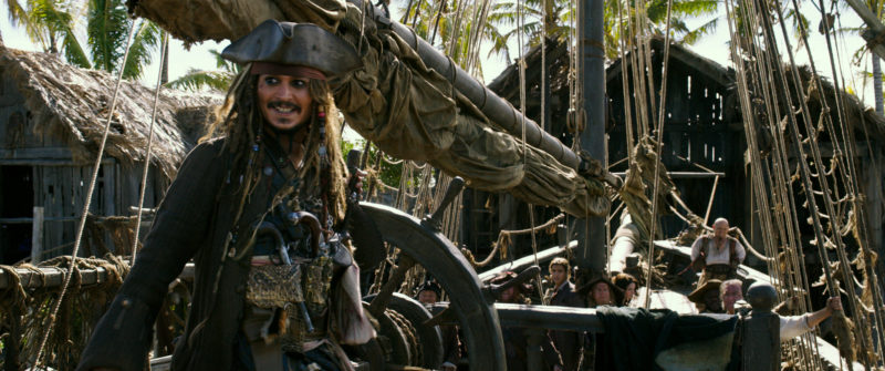 """PIRATES OF THE CARIBBEAN: DEAD MEN TELL NO TALES"". Jack Sparrow (Johnny Depp). Ph: Film Frame..©Disney Enterprises, Inc. All Rights Reserved."