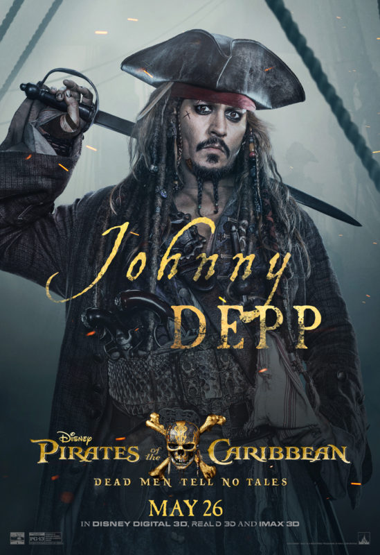 Visual Roller Coaster Pirates of the Caribbean: Dead Men Tell No Tales – In Theaters #PiratesLife