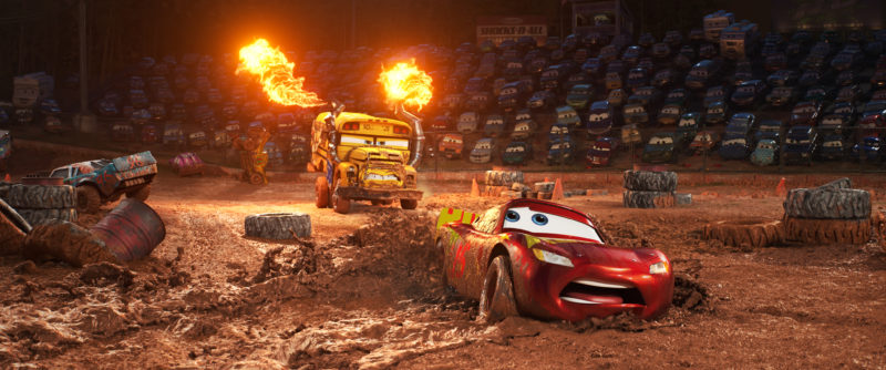 New movie clips from CARS 3 #Cars3
