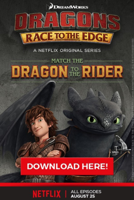 Hiccup, Toothless and the Dragon Riders are back on Netflix