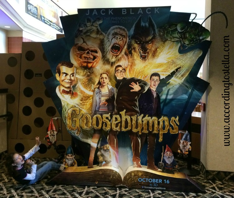 Ready for Goosebumps in January? #Goosebumps
