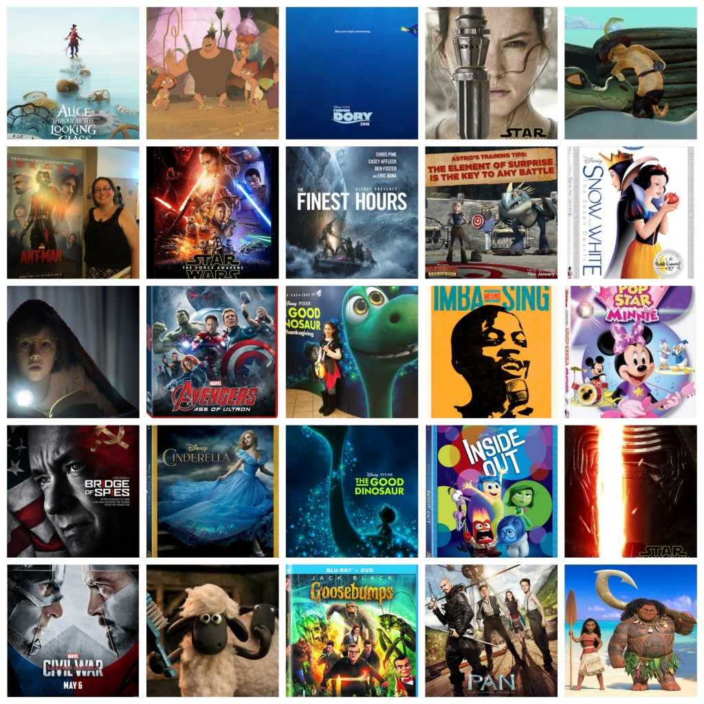 Looking Back at Blogging 2015 – Movie&Media Review