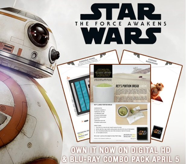 SW: The Force Awakens Crafts & Recipes #starwars