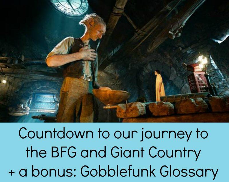 The BFG's Gobblefunk Glossary