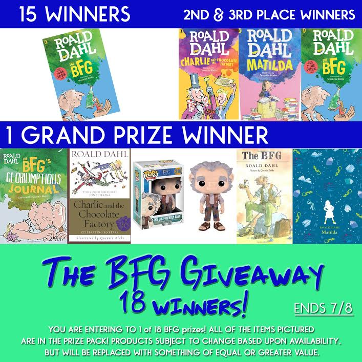 GIVEAWAY – Enter to win this awesome BFG prize pack