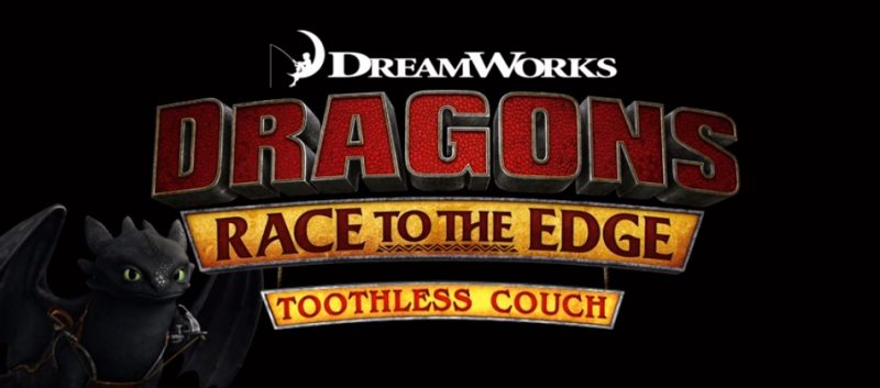 Super-Fan Builds: Toothless Couch (Dragons: Race to the Edge)