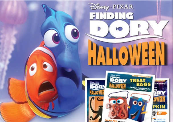 Halloween Fun with #FINDINGDORY