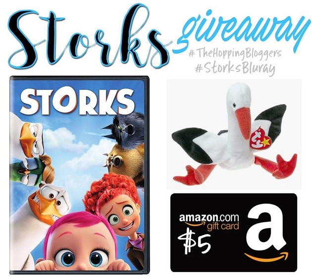 STORKS GIVEAWAY! #storksbluray #thehoppingbloggers
