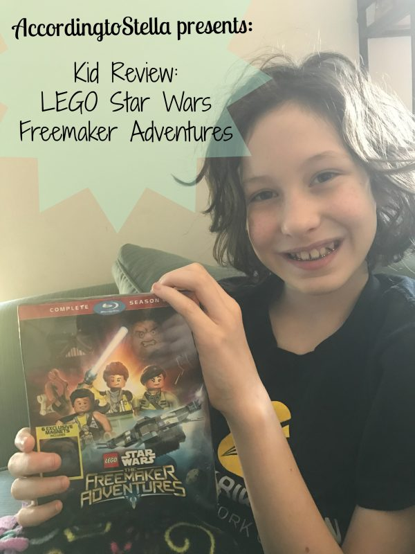 Kid Review: LEGO Star Wars The Freemaker Adventures Complete Season One (Rated G) #Starwars