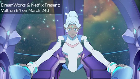 DreamWorks and Netflix brings us Voltron 84 on March 24th #voltron