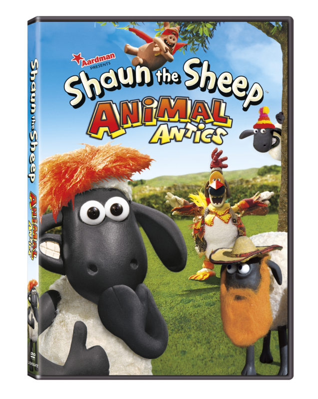 Shaun the Sheep has returned in: ANIMAL ANTICS on DVD, June 13 #shaunthesheep