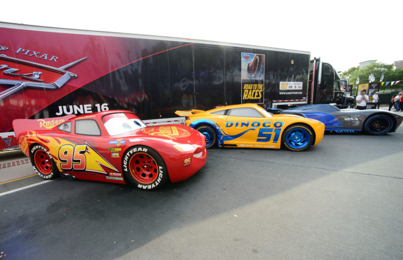 Meet Lightning Mcqueen On Tour At The Road To The Races