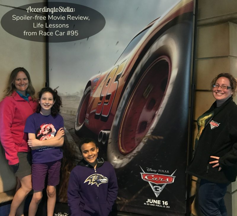 Spoiler-free Movie Review: Cars 3, Life Lessons from Race Car #95 #cars3