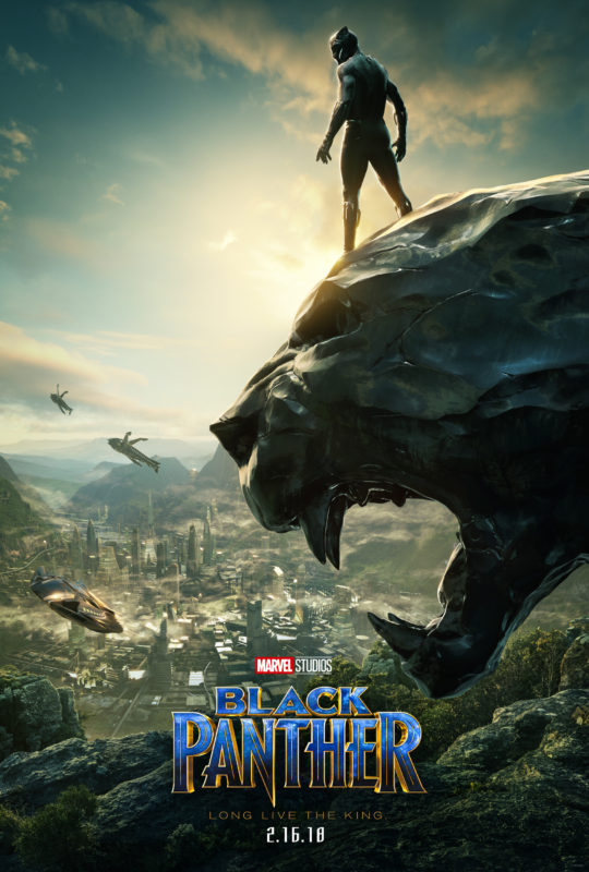 Marvel's BLACK PANTHER New Movie Poster Reveal #BlackPanther