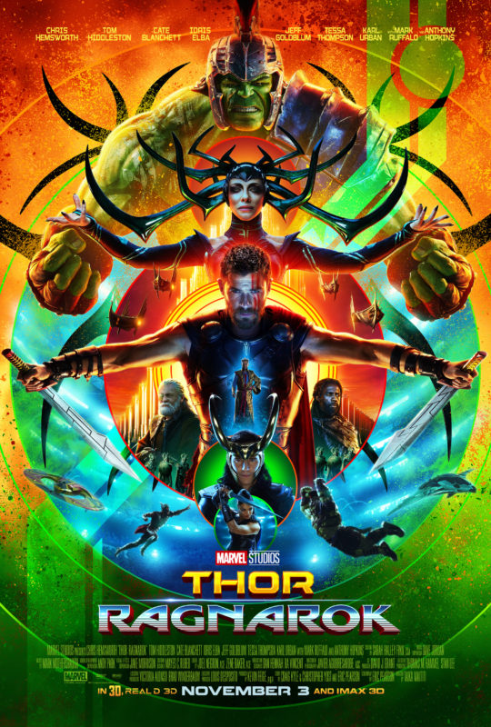THOR: RAGNAROK New Trailer and Dazzling Poster!! #ThorRagnarok