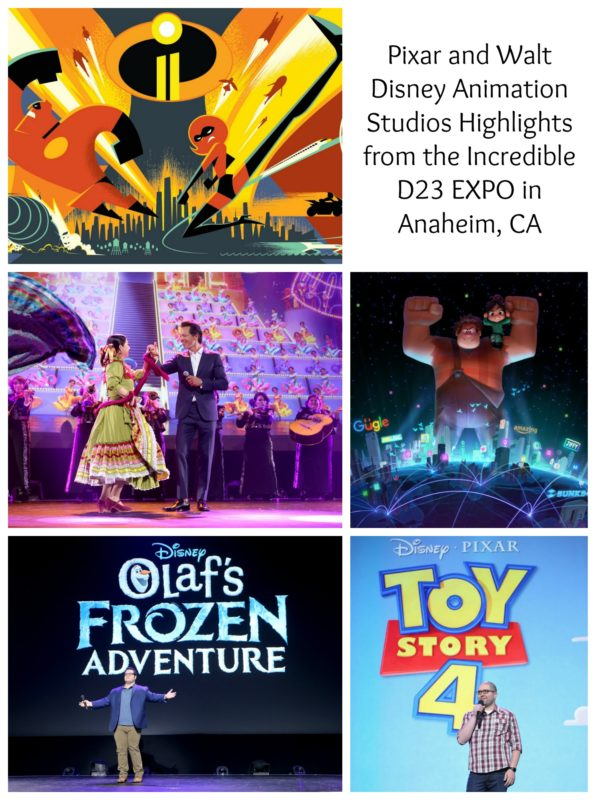 Pixar and Walt Disney Animation Studios Highlights from the Incredible D23 EXPO in Anaheim, CA