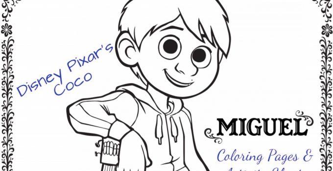 Fun Printable Disney•Pixar's COCO Activity Pages #PixarCoco