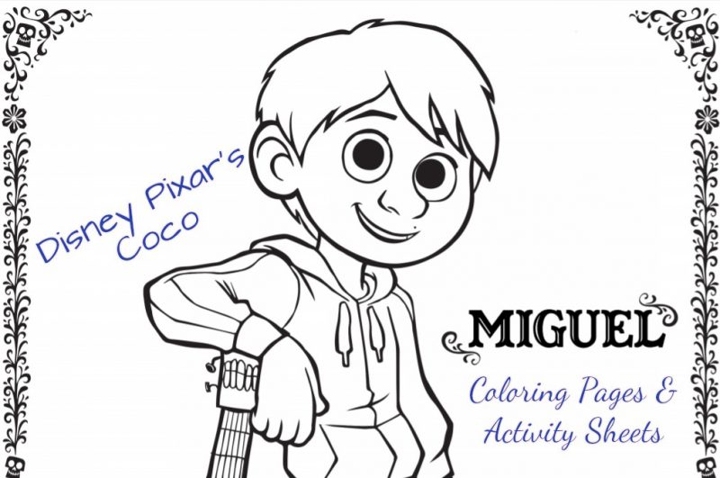 Fun Printable Disney•Pixar's COCO Activity Pages #PixarCoco