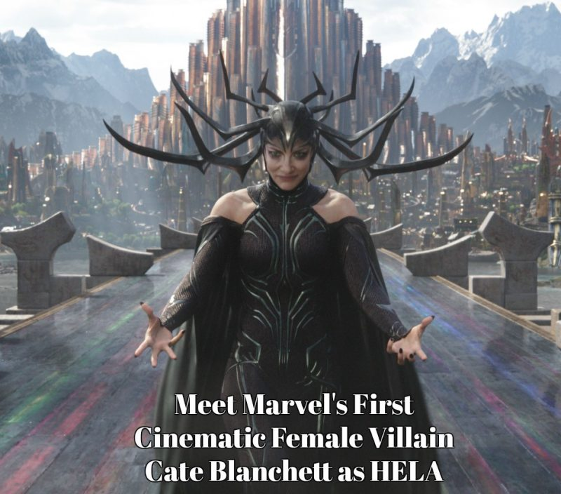 Meet Marvel's Cinematic First Female Villain, HELA #ThorRagnarok