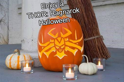 "THOR: RAGNAROK – ""Hela-ween"" DIY Pumpkin & Headdress Designs"
