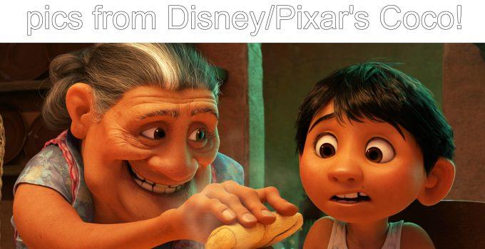Mira mira, Coco featurette and clip #PixarCoco