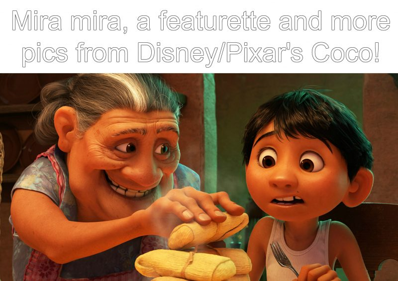 Mira mira, Coco featurette and clip #PixarCoco