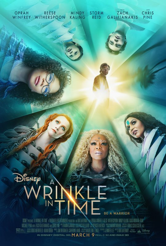 Sneak Peek: A Wrinkle in Time Trailer and Poster #WrinkleInTime