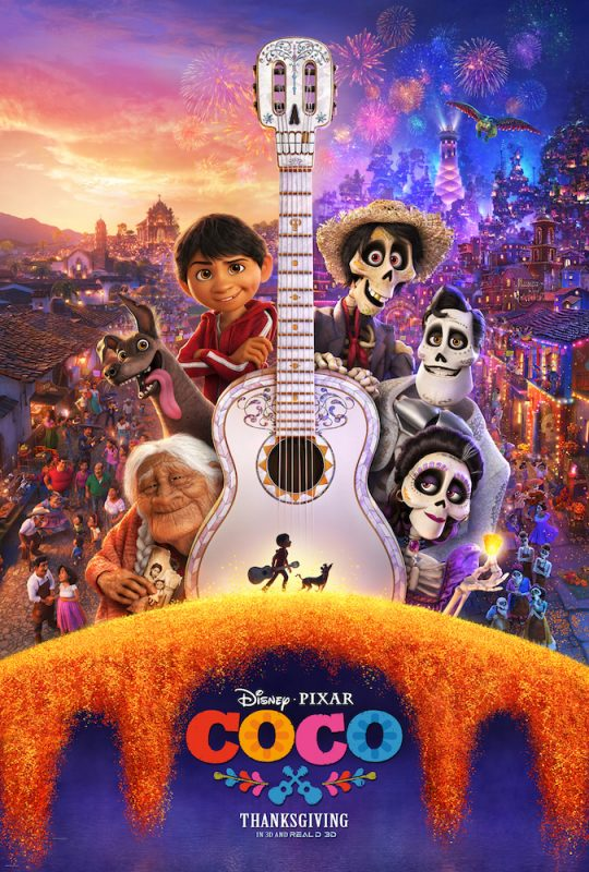 [Spoiler-Free] Movie Review: COCO and Bonus Recipes #PixarCoco