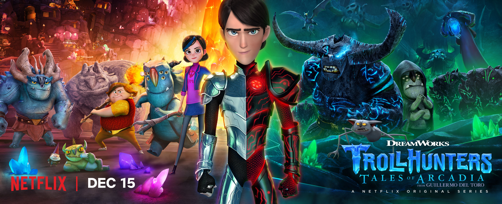 DreamWorks Trollhunters Part 2 Premiere Exclusively on Netflix