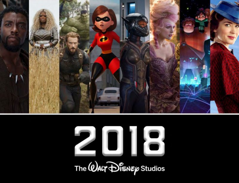 The Amazing 2018 Disney Movie List