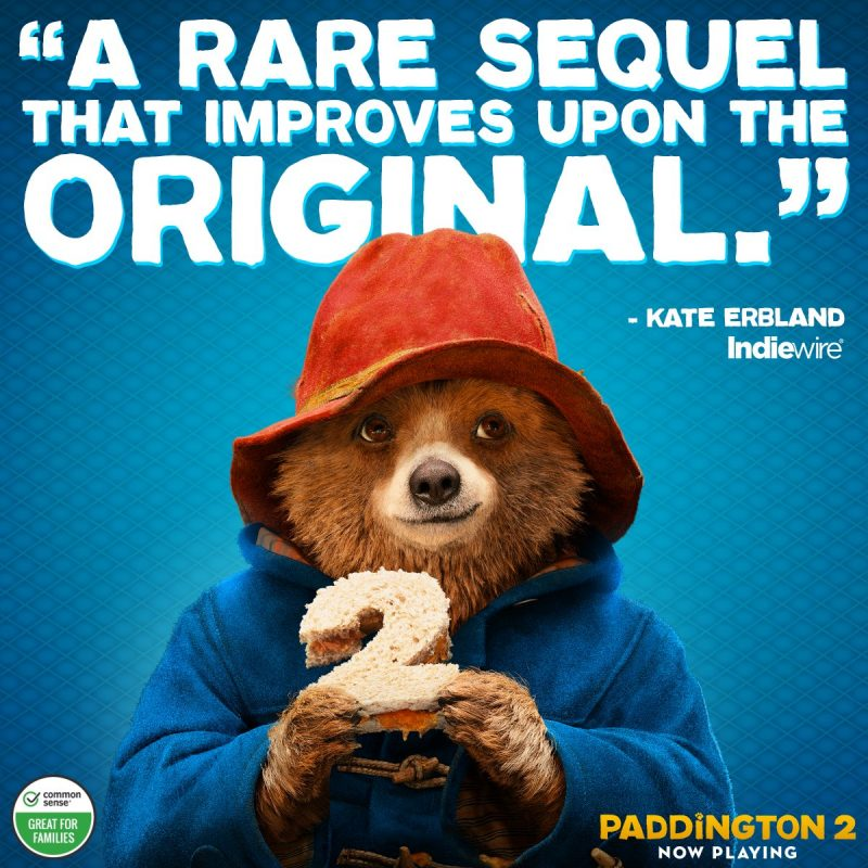 Delightful Family Fun at Paddington 2 [Non-spoiler movie review] #PaddingtonMovie