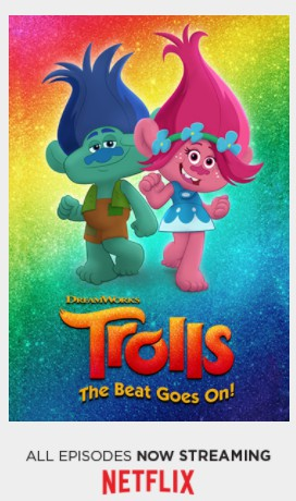 Get Your Glitter On! 'Trolls: The Beat Goes On' Hits Netflix and Toy Shelves #DWTrollsTV