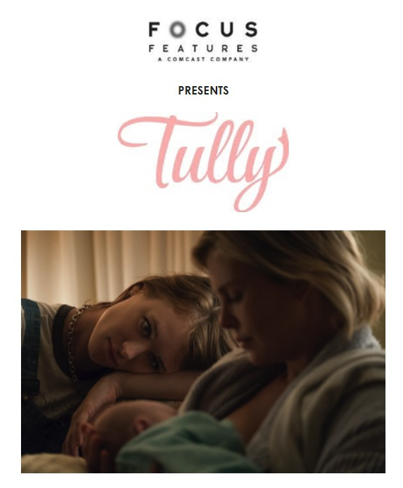 New Charlize Theron Movie: TULLY #tully