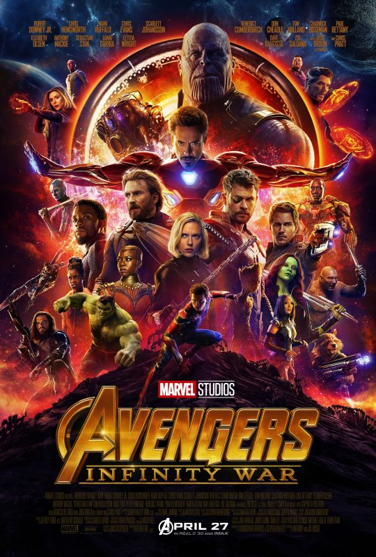 Marvel Studios' AVENGERS: INFINITY WAR Trailer and Poster #InfinityWar
