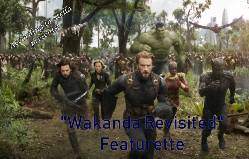 """Wakanda Revisited"" Featurette #infinitywar"