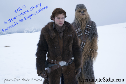 SOLO Exceeded All My Expectations – Spoiler-Free Movie Review: SOLO – A Star Wars Story #HanSolo