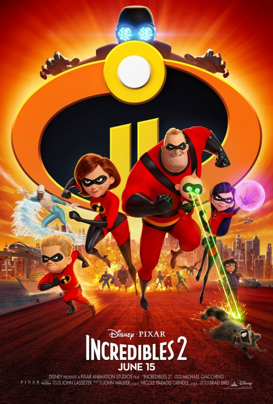 Incredibles 2 (PG): As good if not better than the first! [Spoiler-Free Movie Review]