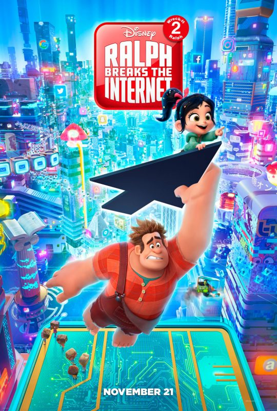 Wreck-It Ralph 2 Official Trailer and Pics